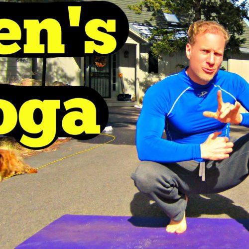 10 Min Yoga for Men Beginner Routine – Easy Men's Yoga Workout – Best Yoga Workout for Dudes