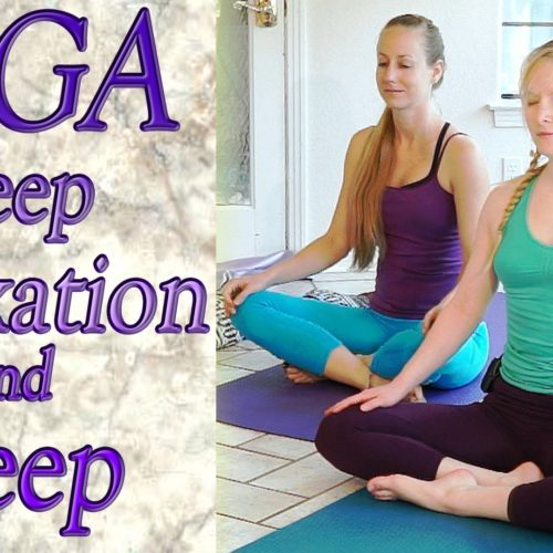 Beginners Yoga For Deep Relaxation, Sleep, Insomnia, Anxiety & Stress Relief