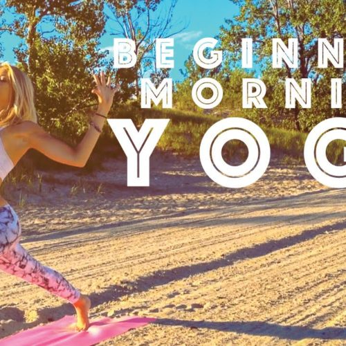 Beginner Yoga ♥  Easy Morning Yoga For A Positive Mind