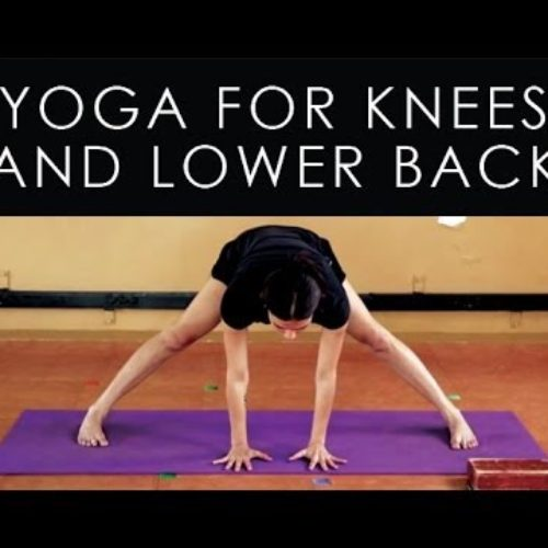 Iyengar Yoga for Knees and Lower Back Pain