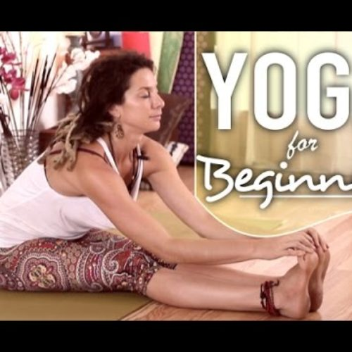 Yoga For Beginners – Gentle Full Body Stretches For Flexibility & Relaxation