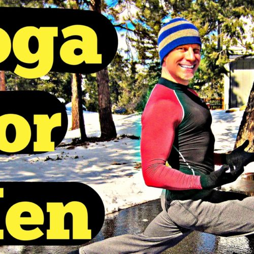 15 Min Yoga for Men Intermediate Routine – Total Body Yoga Workout for Strength #yogaformen