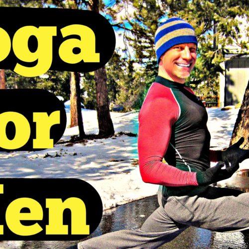 15 Min Yoga for Men Intermediate Routine – Total Body Yoga Workout for Strength #yogaformen