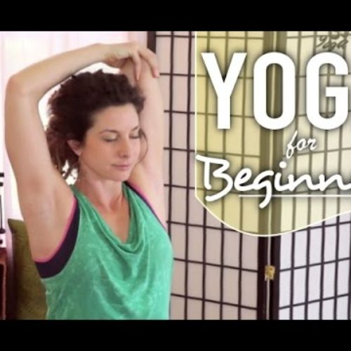 Yoga For Neck and Shoulder Pain – 20 Minute Beginners Yoga For Neck, Back, & Shoulder Pain