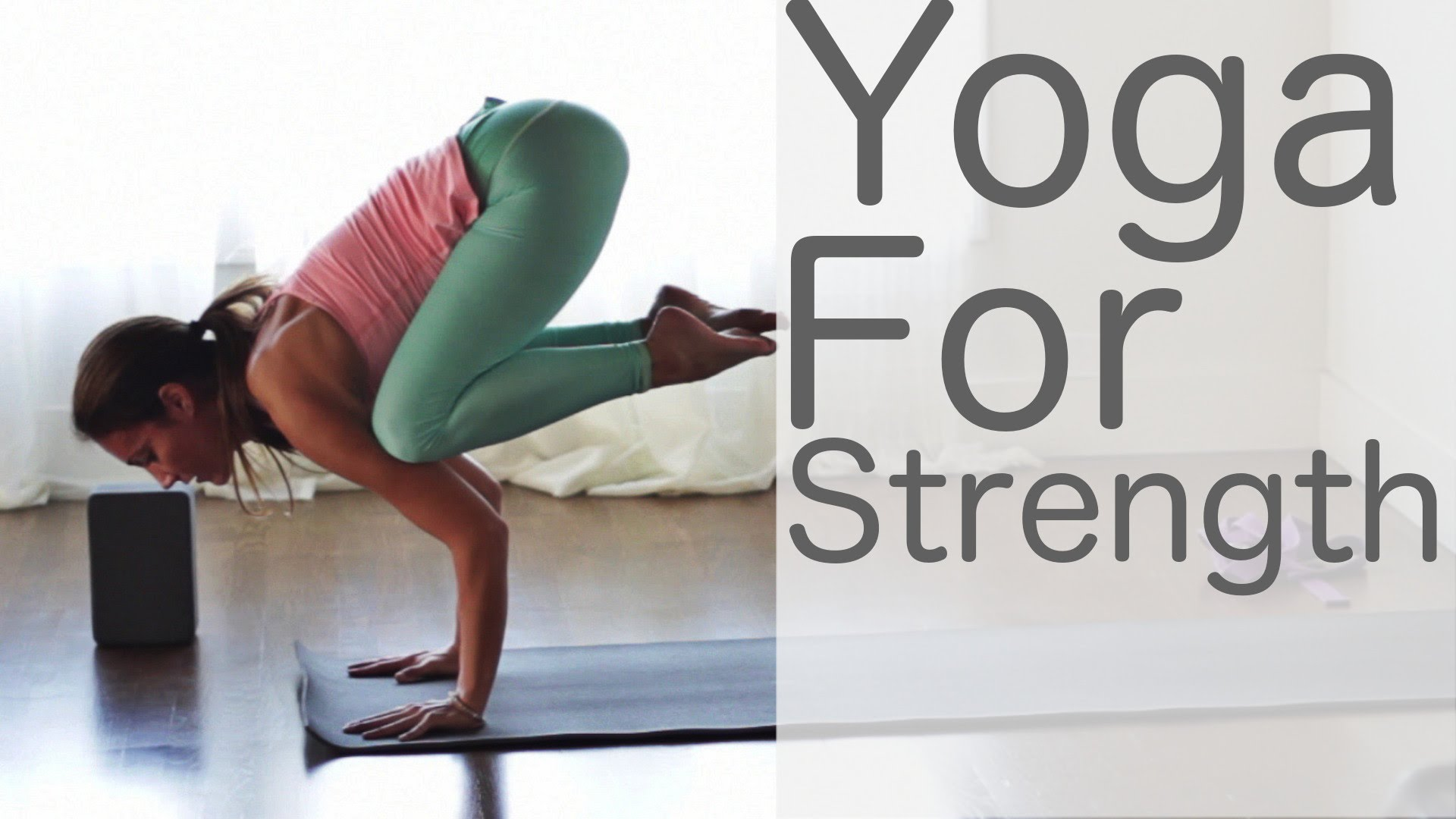 Yoga for Strength with Lesley Fightmaster and Shireen