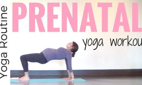 Prenatal Yoga Workout