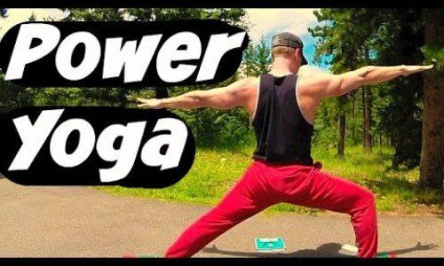 20 Min Power Yoga for Athletes – Yoga Workout for Strength & Flexibility #yogaforathletes