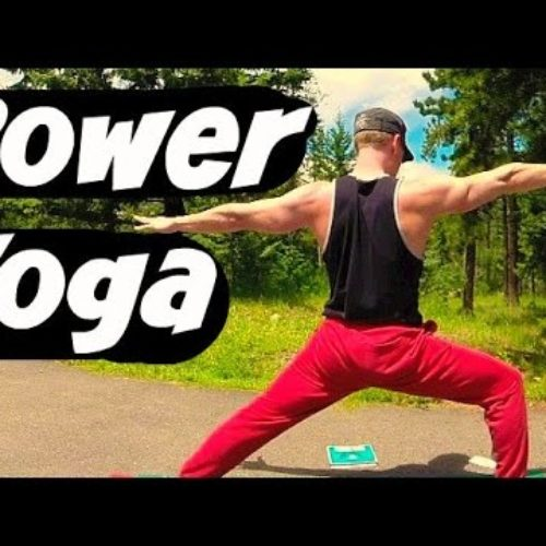 20 Min Power Yoga for Athletes – Yoga Workout for Strength & Flexibility #yogaforathletes