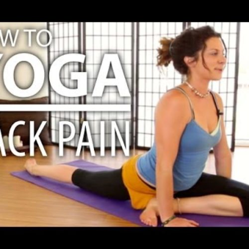 Yoga For Back Pain – 30 Minute Back Stretch, Sciatica Pain, & Flexibility Yoga Flow